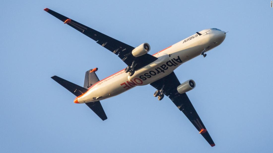 Airbus is testing a plane inspired by the albatross -- and its flapping wings just got longer